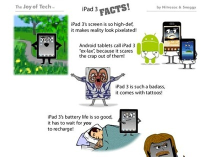 Joy of Tech iPad 3 Facts