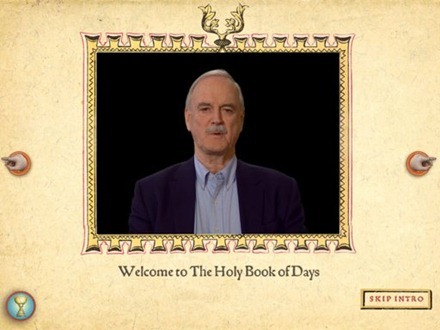 Monty Python Holy Books of Days for iPad