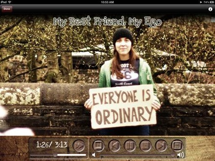 Tracey Browne Everyone Is Ordinary iPad album