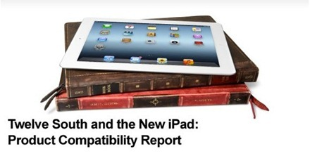 Twelve South and the new iPad