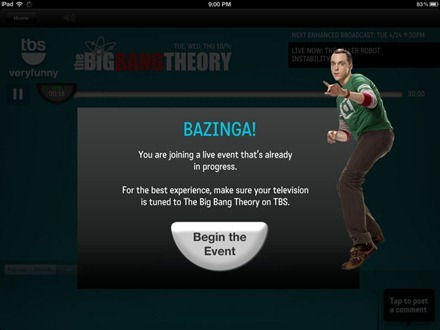 Bazinga Join Live Event