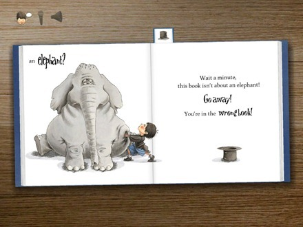 Elephant in The Wrong Book