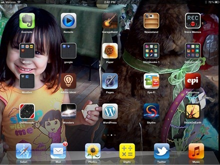 Gallaga iPad Home Screen 1