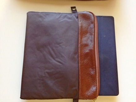 iPad Smart Cover in sleeve