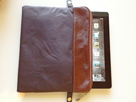iPad in Sleeve