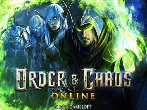Order & Chaos Online Main