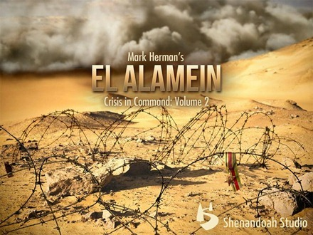 El Alamein Crisis in Command iPad game
