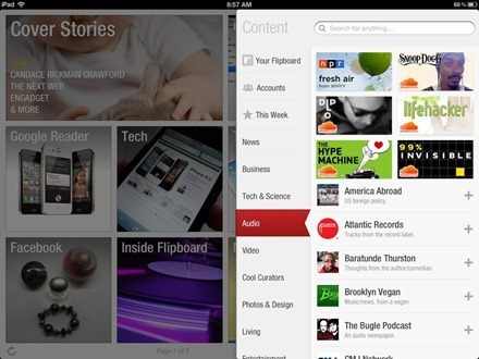 Flipboard Audio