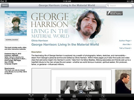 George Harrison iBook
