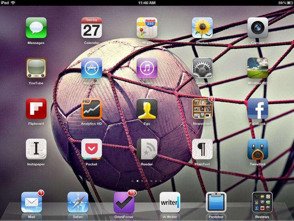 Weekend iPad Wallpapers – Memorial Day and Football (not that kind) | iPad Insight