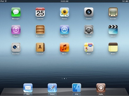 Jailbroken iPad 3