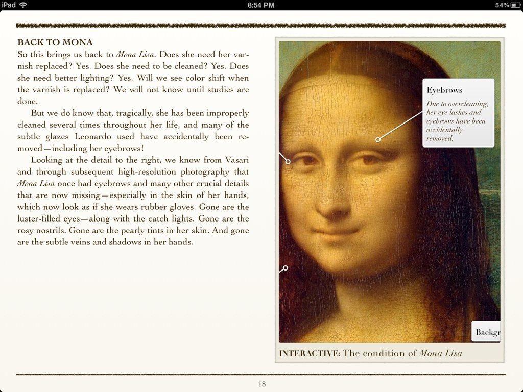 Cleaning Mona Lisa A Great Example Of How Good Ibooks Author Titles