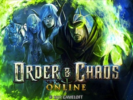 Order and Chaos Online iPad