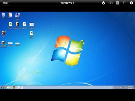 Parallels Mobile Windows 7