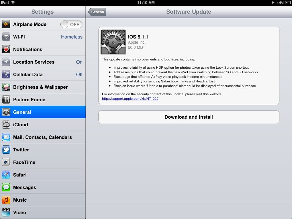 iPad Basics: How To Do iPad OS Software Updates Over the Air