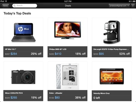 Decide Shopping and Price Predictor for iPad