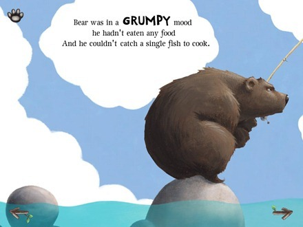 The Very Hungry Bear iPad storybook app