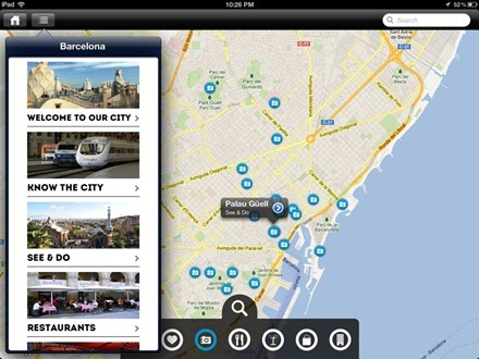 GuidePal Offline City Guides iPad app