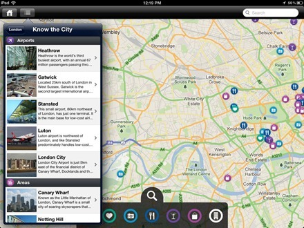 GuidePal iPad London know the city
