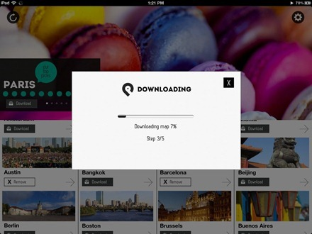 GuidePal iPad downloading