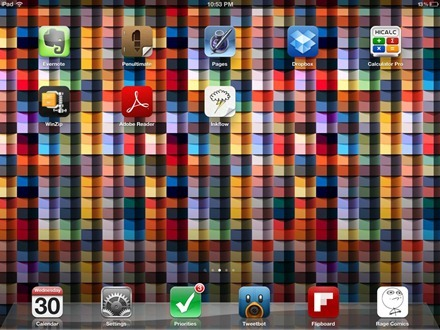 Matthew iPad home screen 2