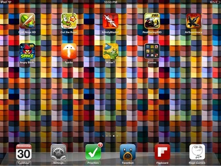 Matthew iPad home screen 3