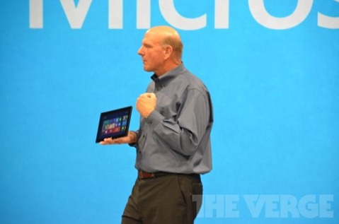 Microsoft Surface Ballmer Fist Pump