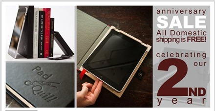 Pad and Quill iPad cases