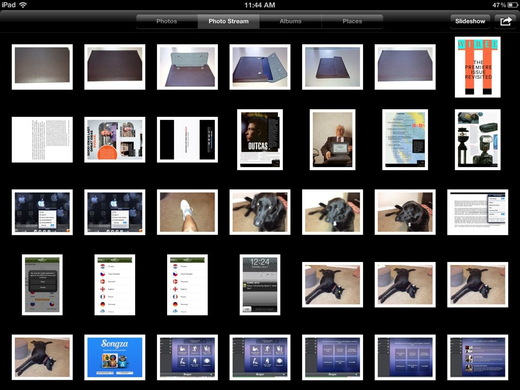 Photo Stream Is Nice, But Awfully Slow At Times