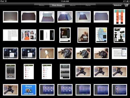 Photo Stream on iPad