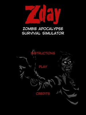 ZDAY Survival Simulator HD iPad app