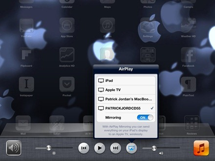 iPad AirPlay Mirroring to Windows PC