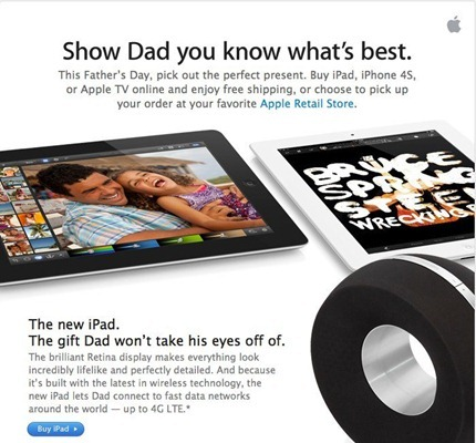 iPad for Fathers Day