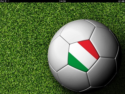 Italy football iPad wallpaper