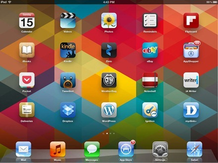 Marianne Schultz iPad home screen