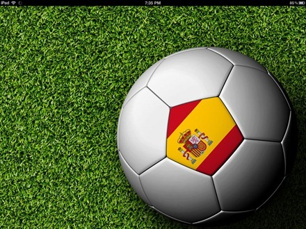 Spain football iPad wallpaper