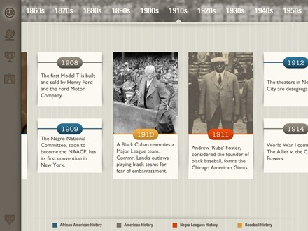 Negro Leagues Baseball Museum iPad app