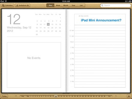 iPad Mini Announcement