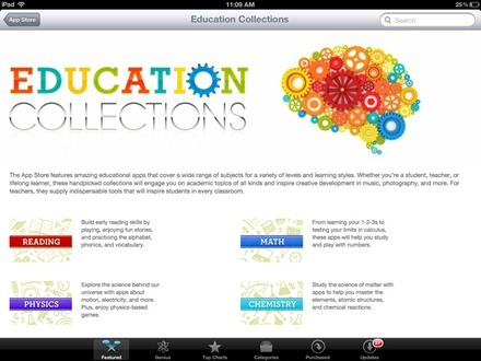 App Store Education Collections