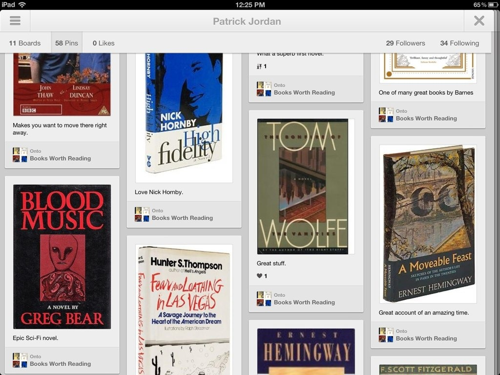 Best free ipad app of the week pinterest ipad insight for Pinterest download