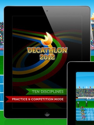 Retro Decathlon 2012 iPad game