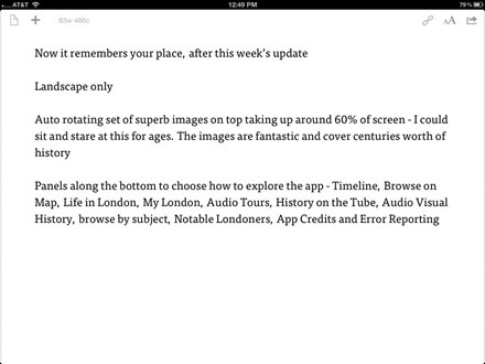 Drafts for iPad