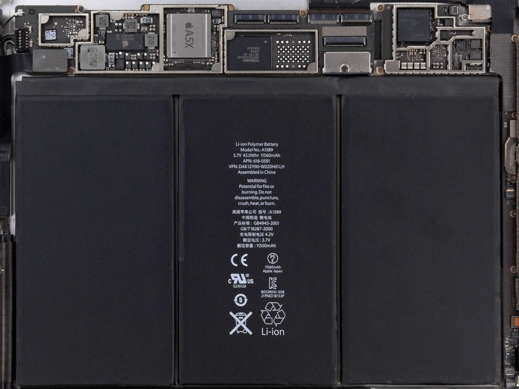 IPad 3 Internals Wallpaper