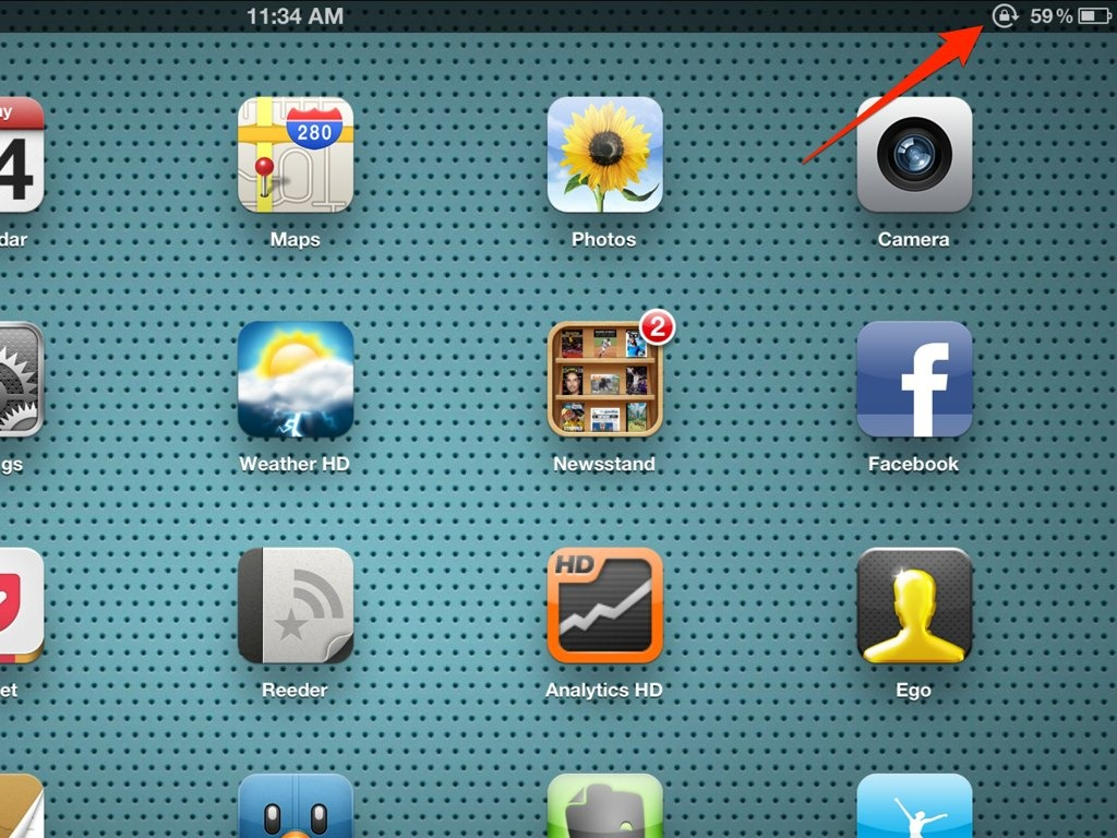 Ipad Basics A Fix For When The Ipad Screen Stops Rotating Ipad