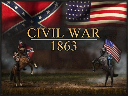 Civil War 1863 iPad game