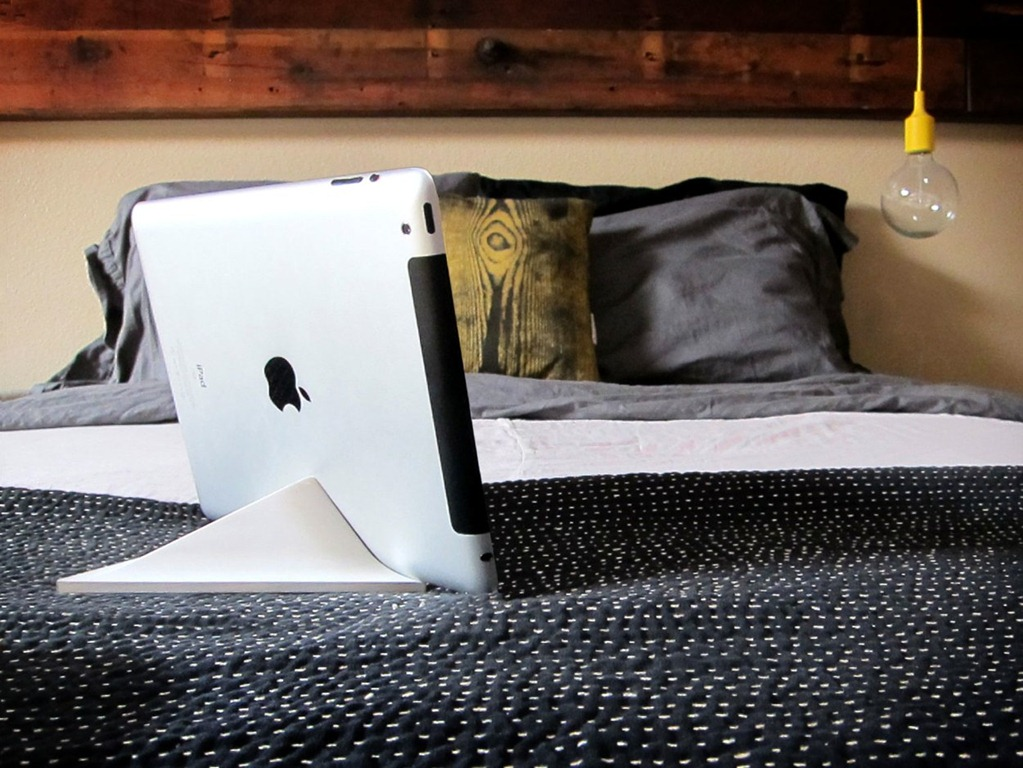 Ipad Stands For Bed cool things: facet pyramid ipad stand | ipad insight