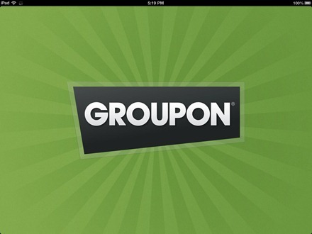 Groupon HD for iPad