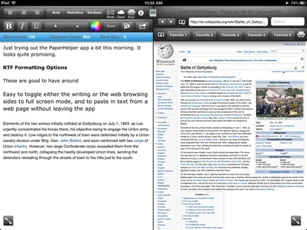 PaperHelper for iPad