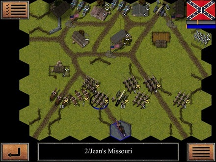 Civil War: 1863 iPad game