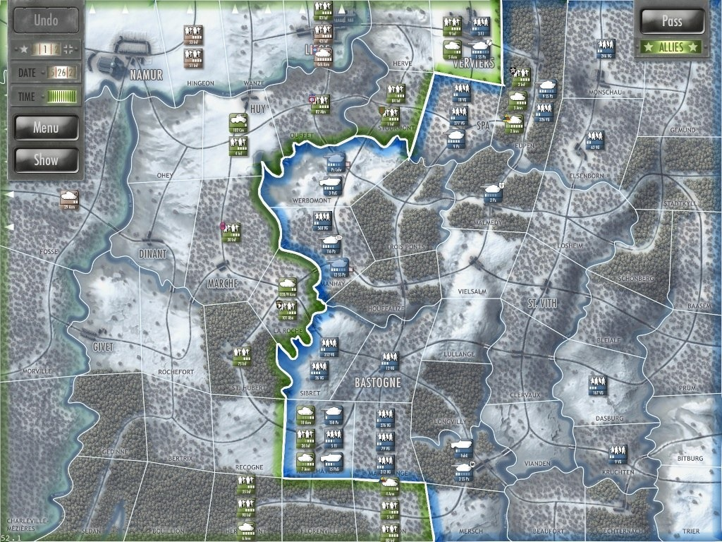 projects battle bulge simulation game